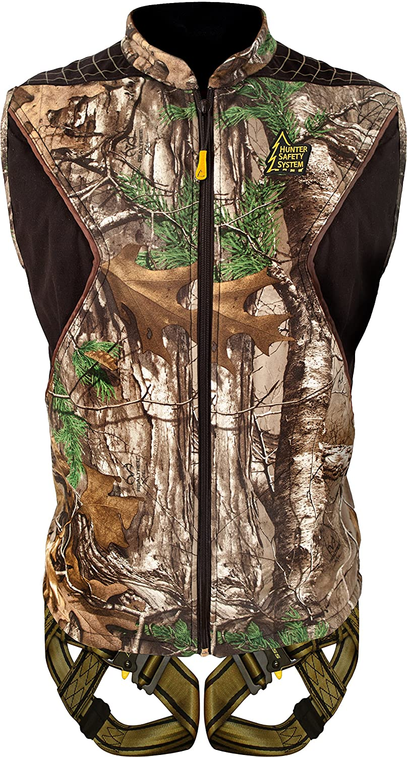 Hunter Safety System Elite Vest Tree Stand Safety Harness