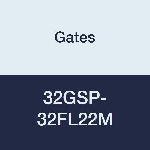 Gates 32GSP-32FL22M GlobalSpiral Couplings, Code 61 O-Ring Flange, Zinc Plated Carbon Steel, 10.83