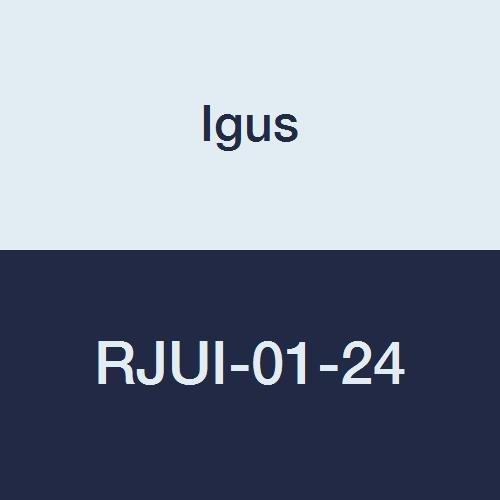 Igus RJUI-01-24 DryLin R Standard Clearance Straight Linear Plain Bearing, 1 1/2