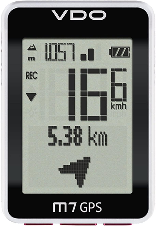 VDO M7 GPS with Motion Sensor Digital Wireless Black Cycle Bike Cyclocomputer