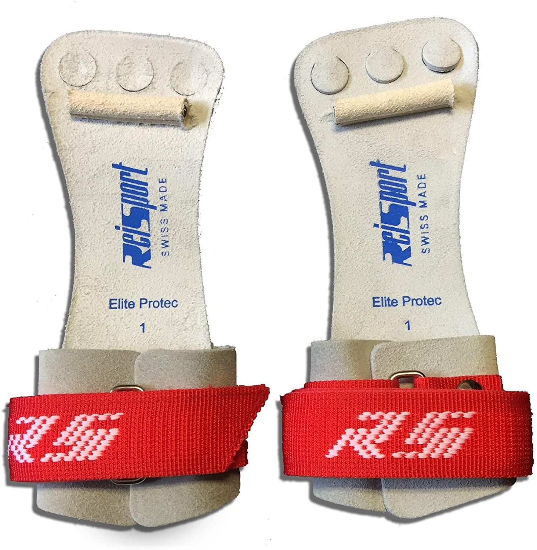 Reisport Elite Protec Hook & Loop Grips - High Bar