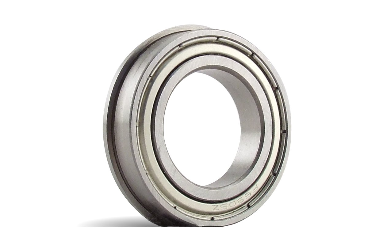 SMF693-ZZ, 3x8x4F mm, Stainless Steel Flanged Radial Bearing