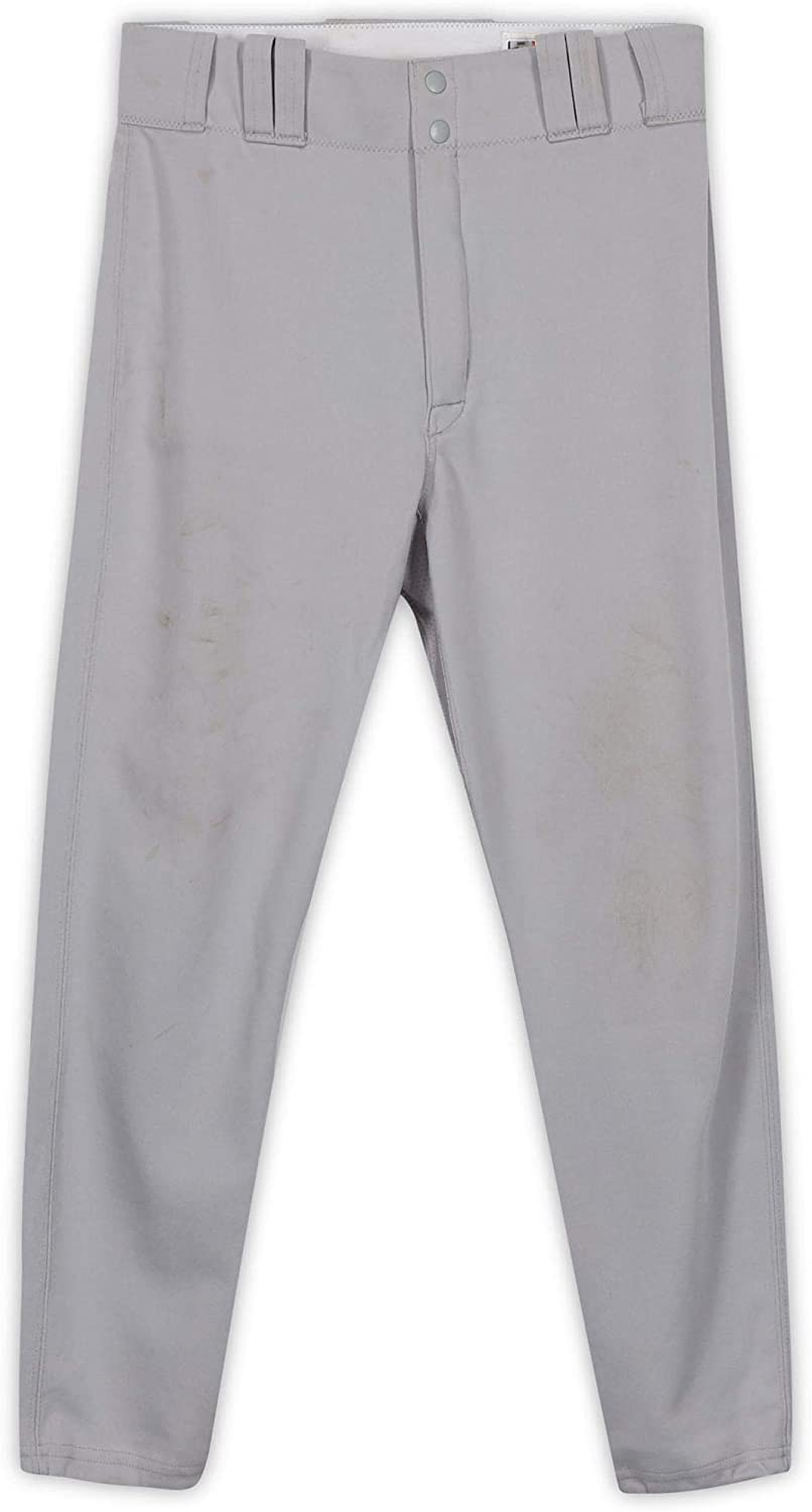 Mike Borzello New York Yankees Game-Used #99 Gray Pants from Spring Training of the 2007 MLB Season - Fanatics Authentic Certified