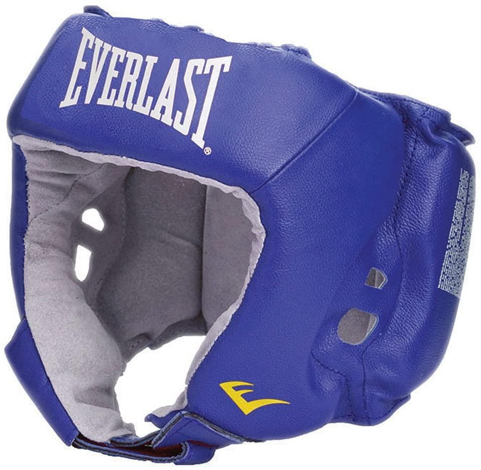 Everlast Boxing-and-Martial-Arts-Headgear Amateur Open Face Head Gear