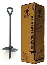 Gibbon Slacklines Ground Screw, earth anchor, length: 70cm, width (plate): 20cm, Slacklining without trees