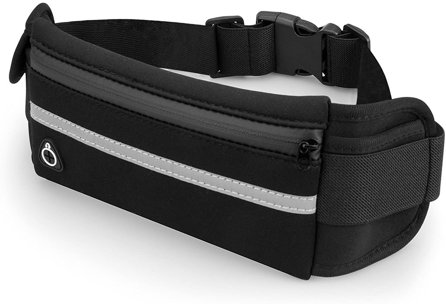 JupiterGear Sports Running Belt and Travel Fanny Pack for Jogging, Cycling and Outdoors with Water Resistant Pockets