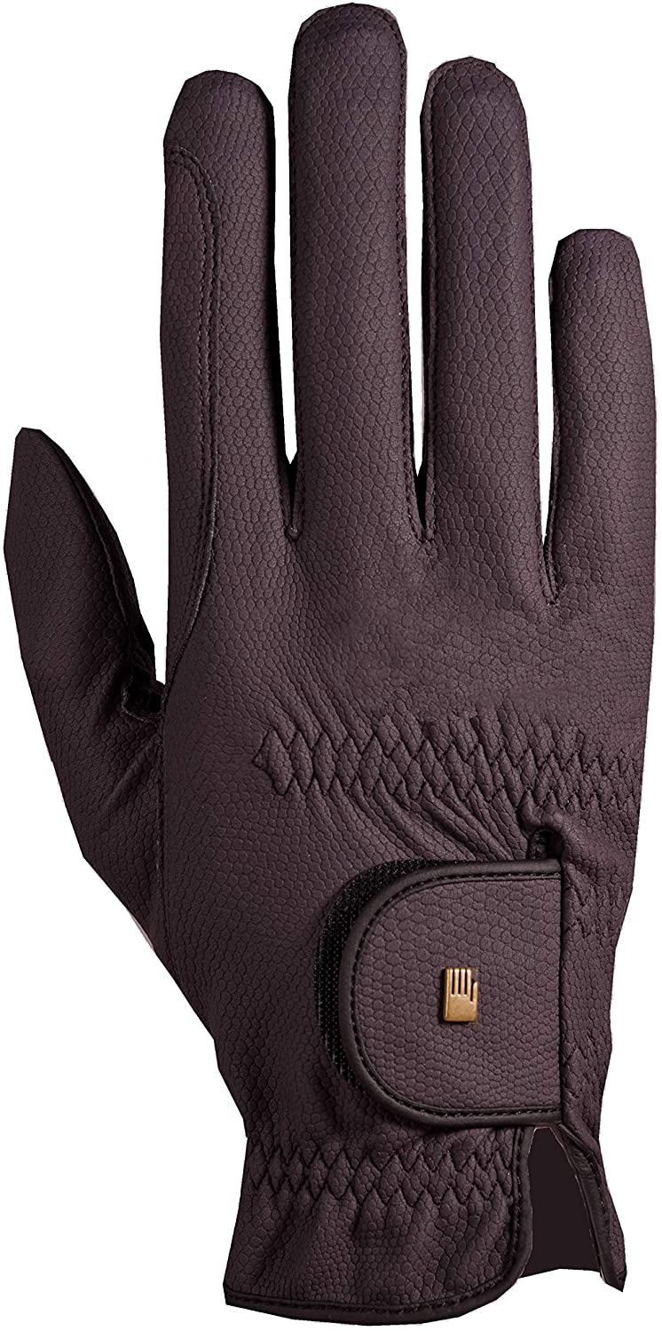 Roeckl Grip Competition Glove 7 inches Plum