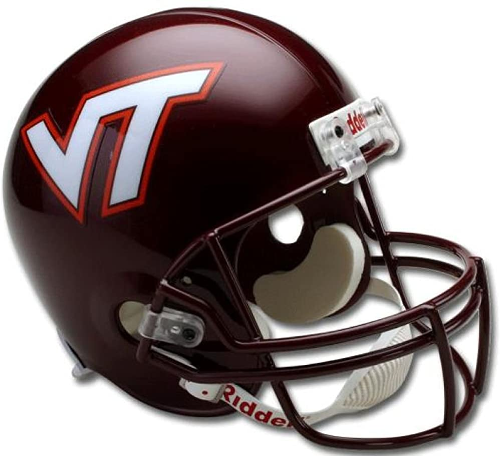 Riddell Virginia Tech Hokies NCAA Full Size Deluxe Replica Football Helmet