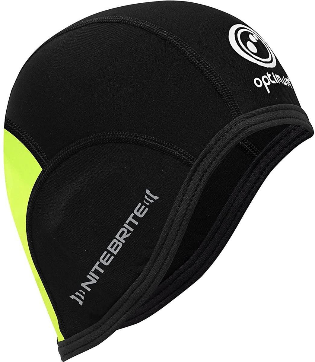 Optimum Men's Thermal Skull Cap, Black/Fluro Green, us:one Size