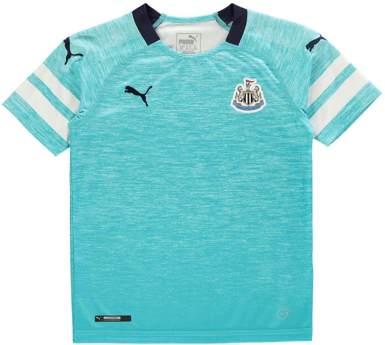 PUMA 2018-2019 Newcastle Third Football Soccer T-Shirt Jersey (Kids)