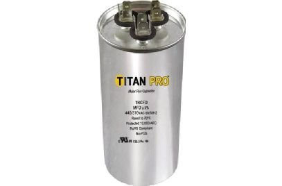 Titan TRCFD403 Dual Rated Motor Run Capacitor Round MFD 40/3 Volts 440/370