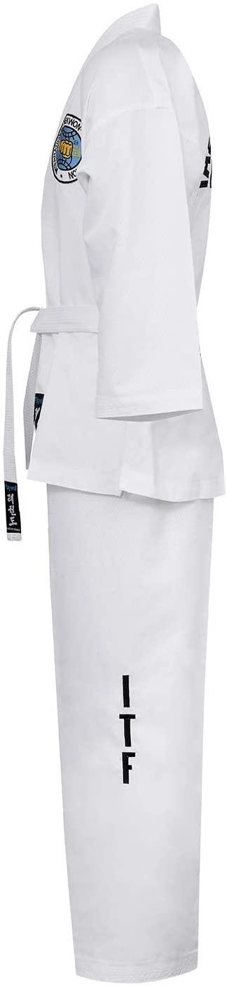 Playwell Martial Arts Elite Ultra Light Itf Taekwondo Student Fighter Suit