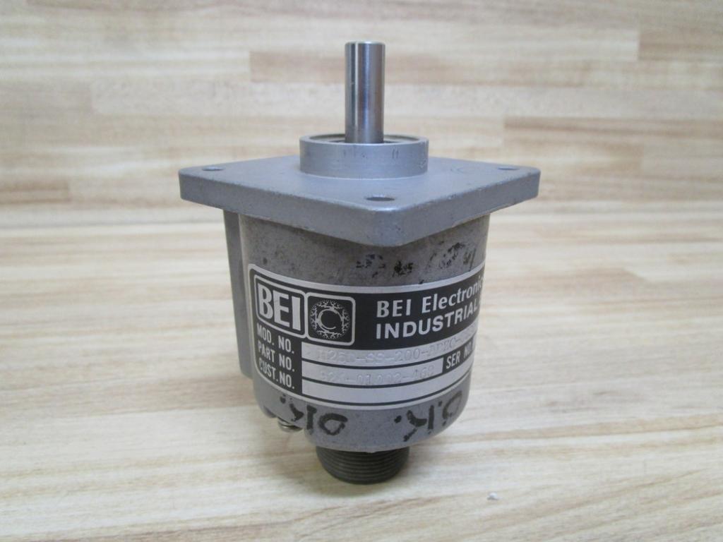BEI 924-01002-468 92401002468 Industrial Encoder - Dented