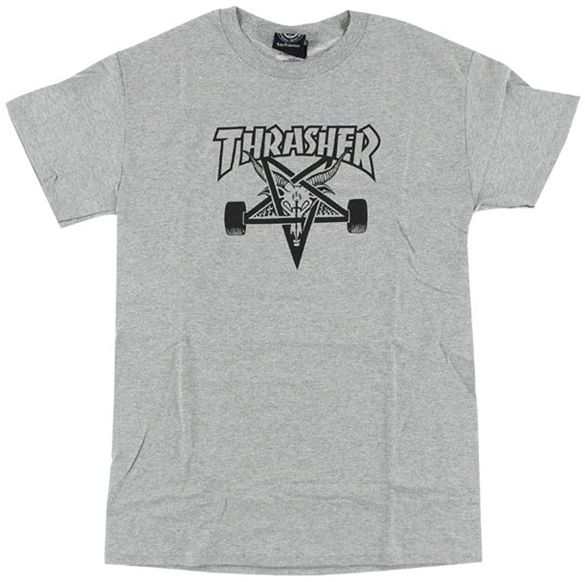 Thrasher Magazine Sk8goat Grey Men's Short Sleeve T-Shirt - Medium