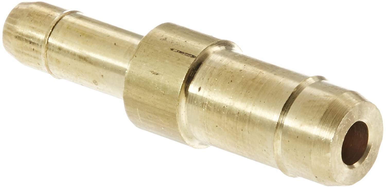 Eaton Weatherhead 1062X6X4 Brass CA360 Mini-Barb Brass Fitting, Union, 3/8 x 1/4