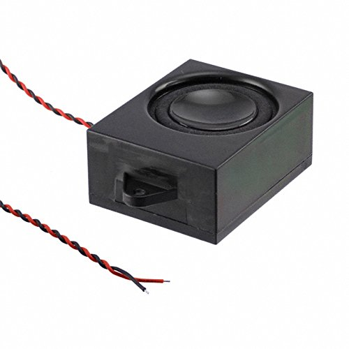 Speakers & Transducers 32mm SPEAKER w/ENCL 3 W 8 OHM 82 DB (50 pieces)