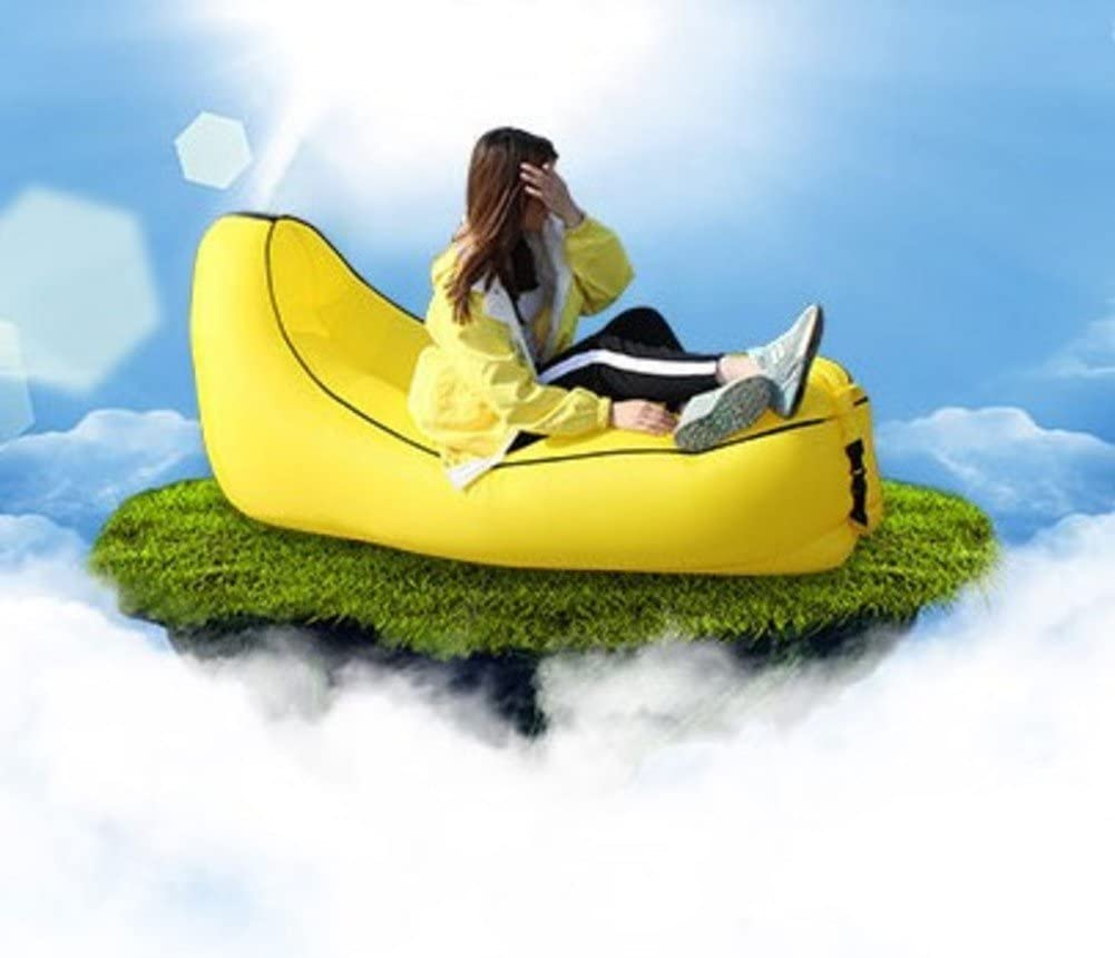 ONETWO Portable Air Sofa Bed,Waterproof Folding Inflatable Lounger Air Lounger,Outdoor Travel Inflatable Sleeping Bag
