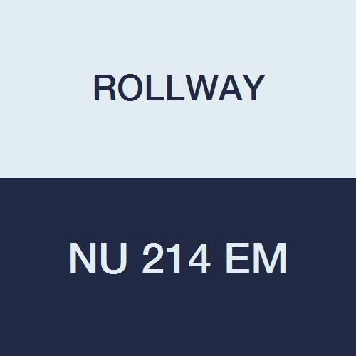 Rollway NU 214 EM Cylindrical Radial Roller Bearing, 2.7559