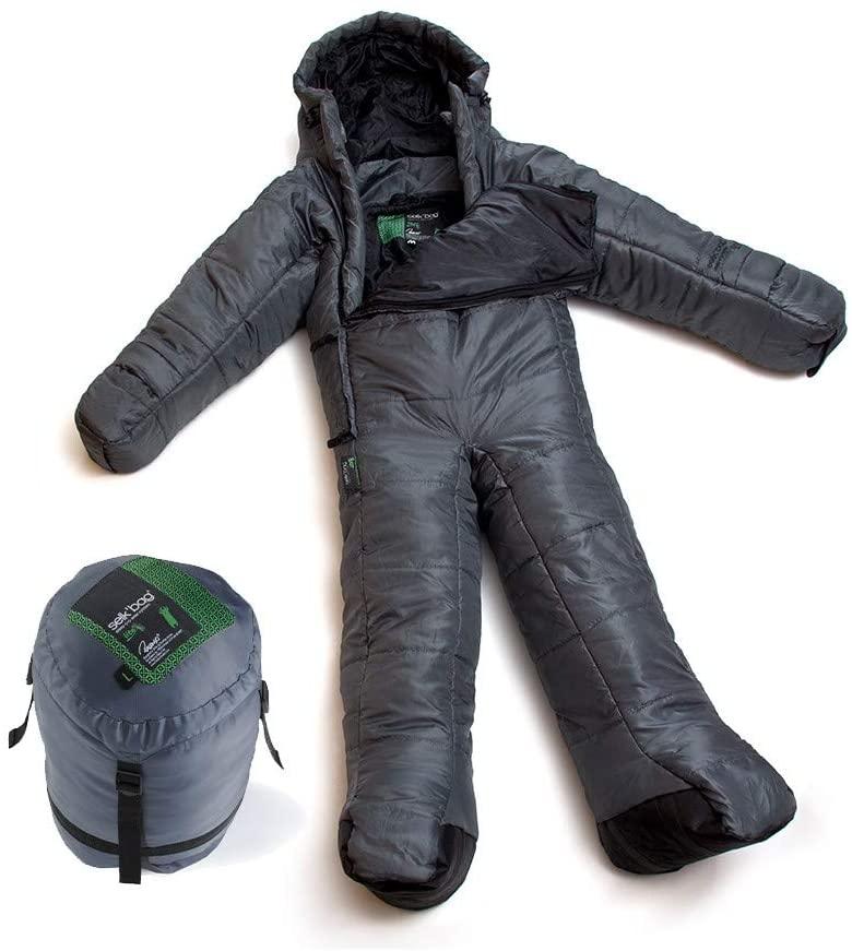 Selk'bag USA, Inc. Lite Sleeping Bag: 45 Degree Synthetic Dark Shadow, Large