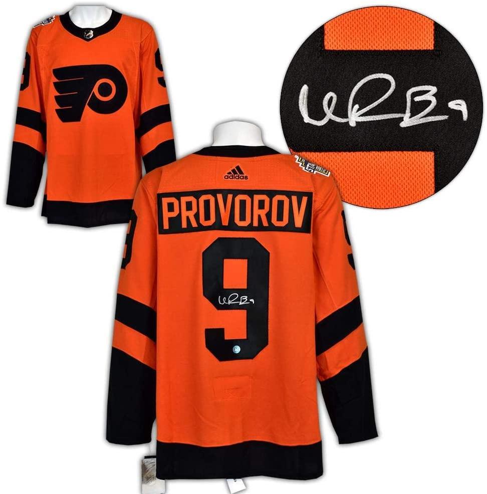 Ivan Provorov Signed Jersey - 2019 Stadium Series Adidas - Autographed NHL Jerseys