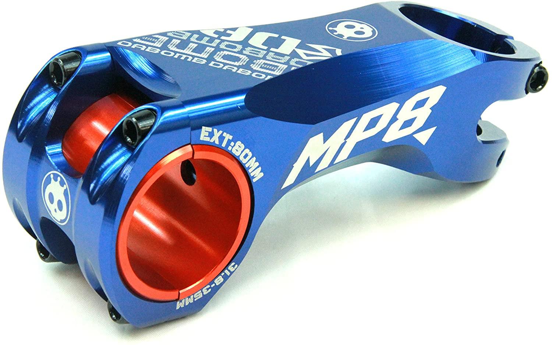 Da Bomb MP8 Stem Forged Aluminum - 31.8mm / 35mm Clamp Dia. - Ext. 60mm - Blue
