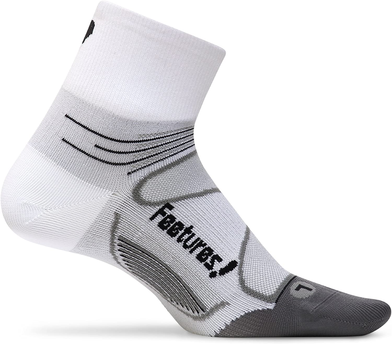 Feetures! Elite Ultra Light Cushion Quarter Socks
