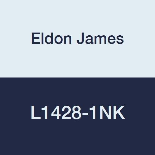 Eldon James L1428-1NK Natural Kynar Threaded Elbow, 1/4-28 UNF Thread to 1/16