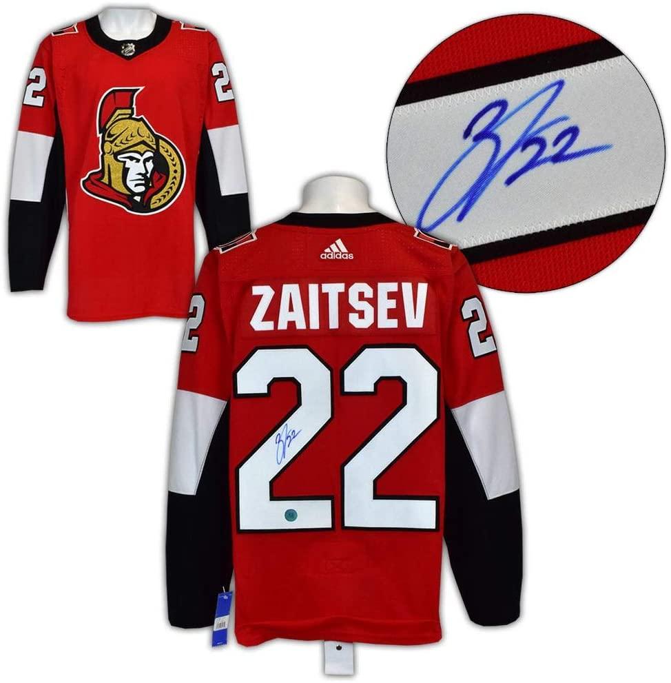 Nikita Zaitsev Signed Jersey - Ottawa Senators Adidas - Autographed NHL Jerseys