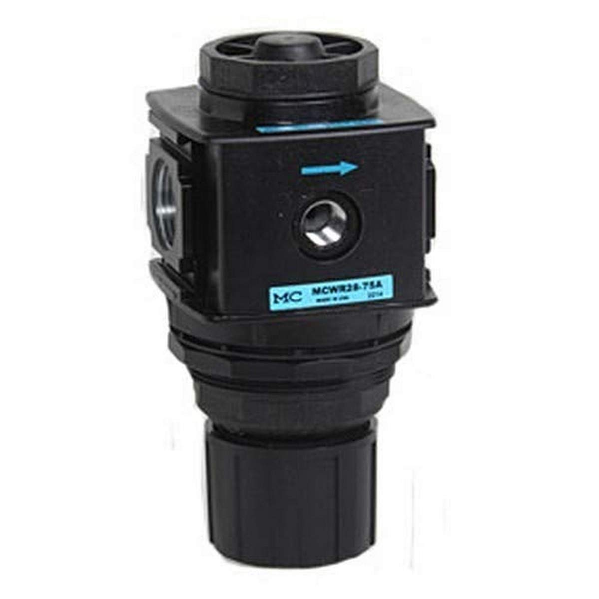 Midwest Control MCWR18-25D Compact Relieving Regulator, Zinc Body, 1/4