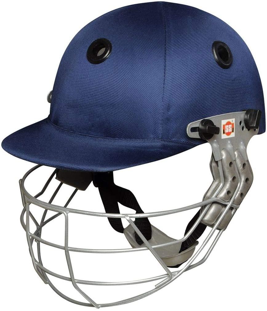 WHITEDOT SPORTS SS Professional Cricket Helmet Size Medium for Head Circumference 57-58 Centimeter