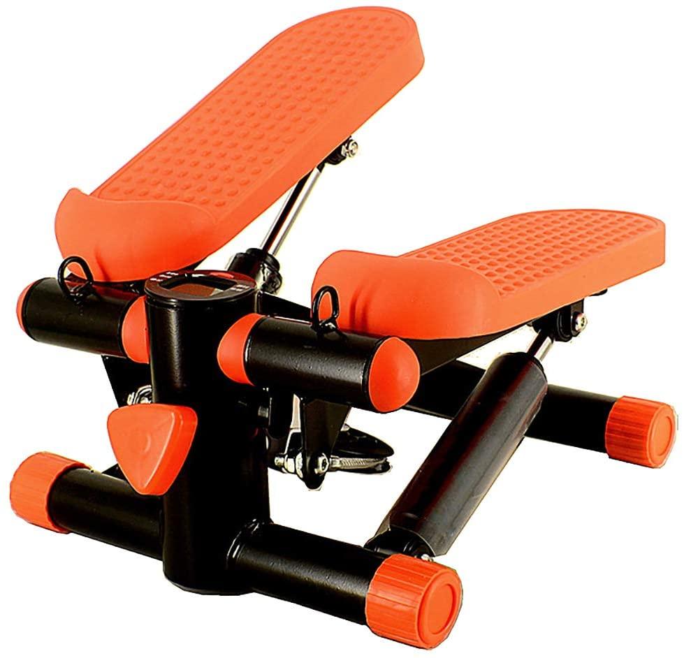 ZAIPP Stepper Cardio Training,Stepper Cardio Fitness Aeróbic Stepper Twister Máquina De Ejercicios Con Pantalla LCD,para Casa Oficina Fitness Entrenamiento Ejercicio