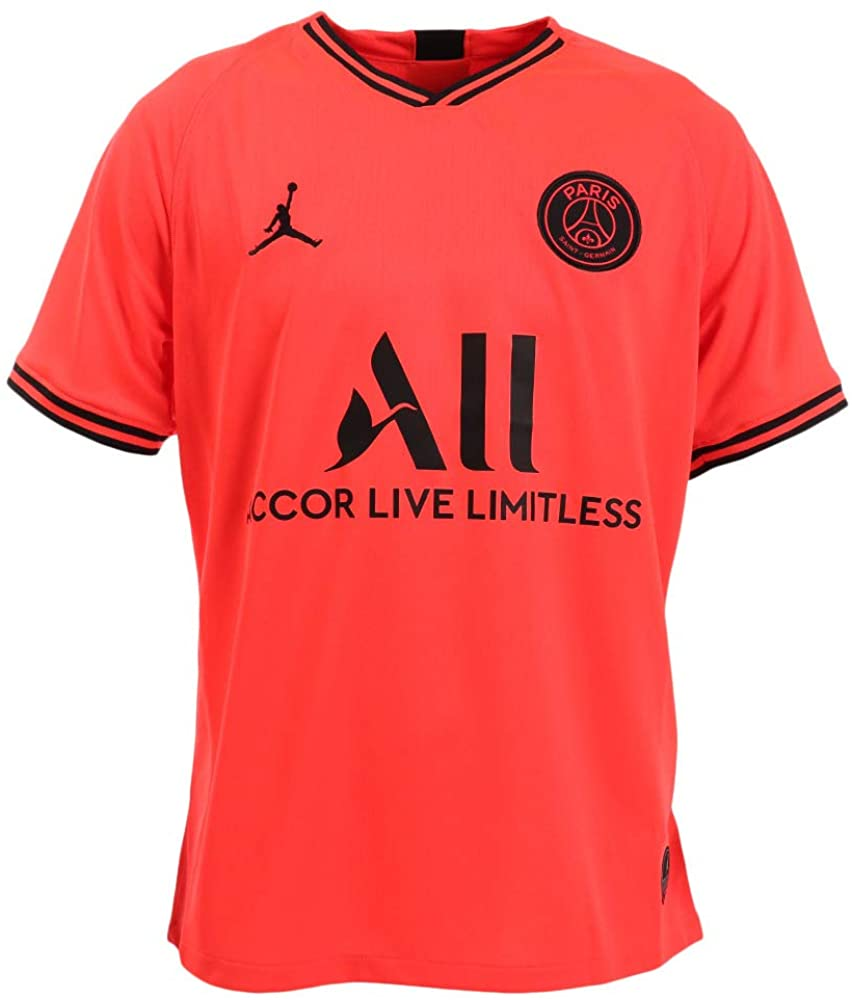 Nike Men's Paris Saint-Germain PSG x Jordan 2019/20 Away Soccer Jersey