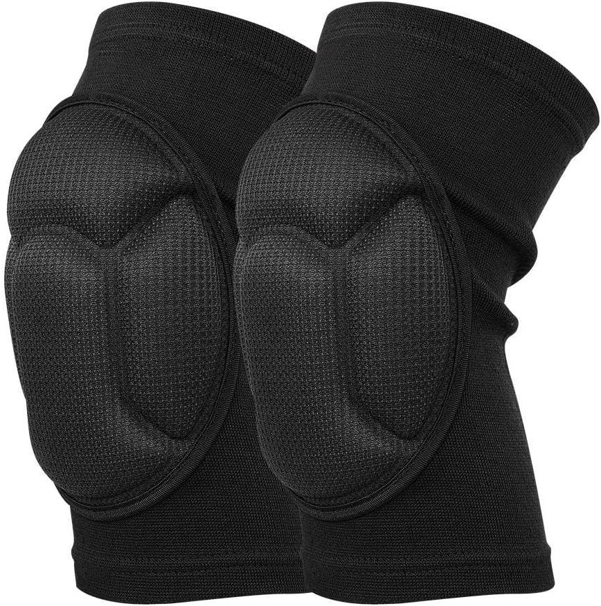 Zerone Foam Sports Knee Pads, Collision Avoidance Sponge Kneeling Knee Pads Goalkeeper Dancer Volleyball Sleeve Protector Brace Guard