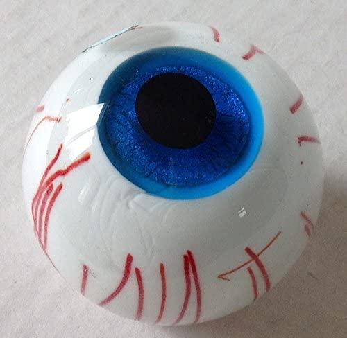 Round Ball Glass Unusual Paperweight Art Glass 2.5