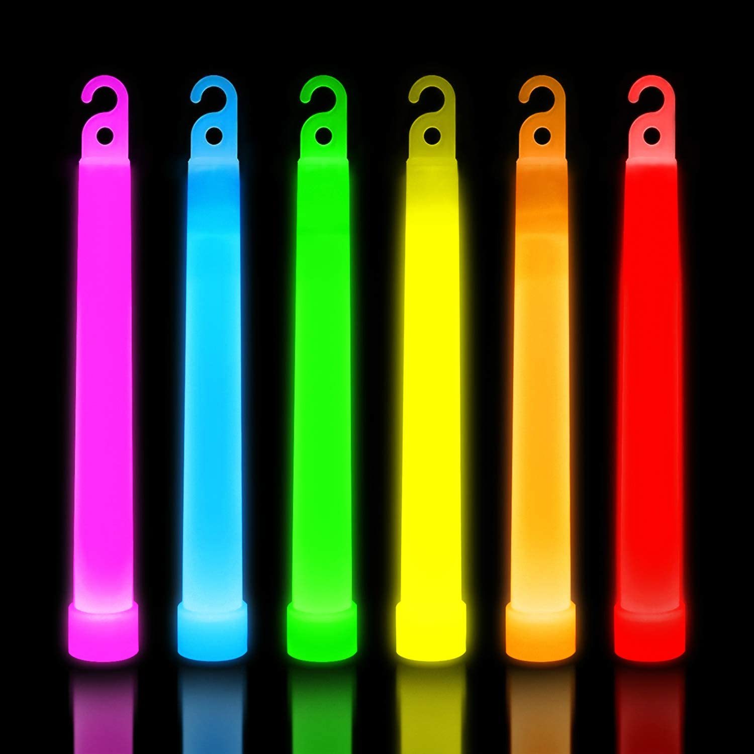 30 Ultra Bright Glow Sticks - Emergency Light Sticks for Camping Accessories, Parties, Hurricane Supplies, Earthquake, Survival Kit and More