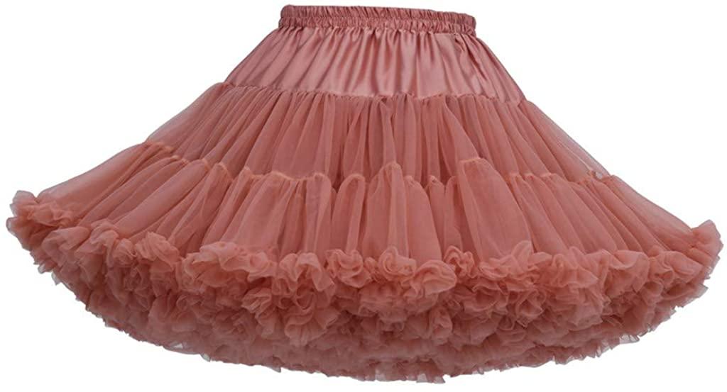 POQOQ Women's Bohemian Elastic Waist Cotton Floor Length Skirt, Flowing Maxi Big Hem Free Size O