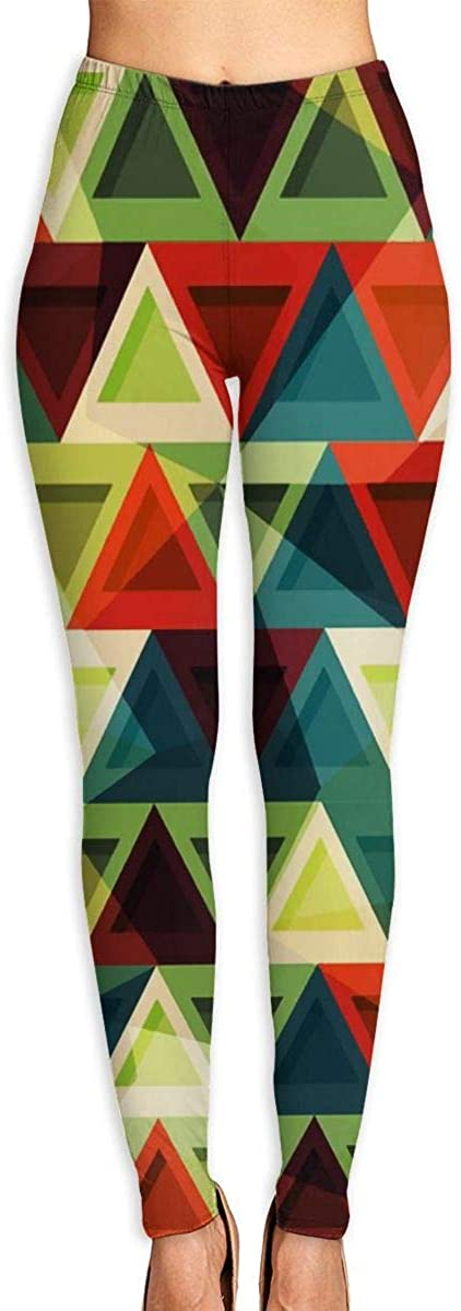 AUISS Womens Yoga Pants Leggings Mexican Indian Running Workout Capris Long Trousers Athletic Gym