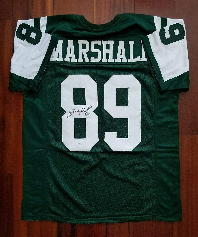 Jalin Marshall (New York Jets) Autographed Jersey - JSA Certified - Autographed NFL Jerseys