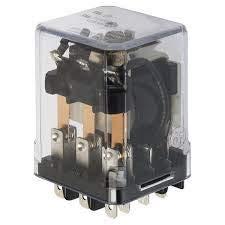 KEYSWITCH KMK3P-24VDC 11PIN, 3PDT, 5AMP, Relay, 24VDC, KMK3P24VDC