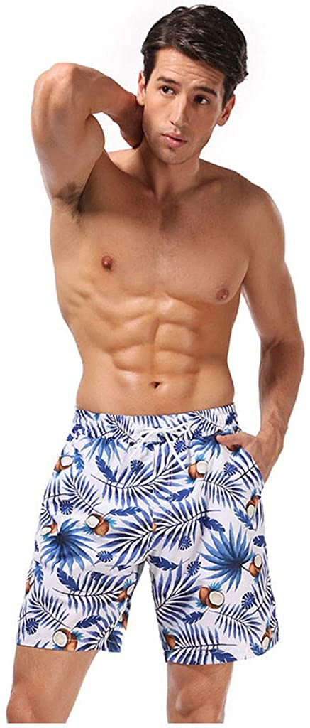 Smoxx Men Quick Dry Beach Board Shorts Kids Swim Trunk Swimsuit Beach Shorts Swim Trunk for Boys Family Clothing