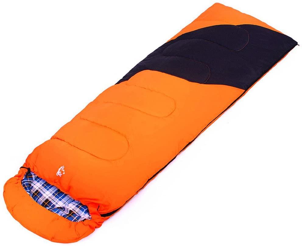 Monkibag Lightweight Comfort Sleeping Bag Sleeping Bags Keep Warm Wild Portable Envelopes Fight with Hats Sleeping Bags Cotton Sleeping Bags Breathable Sleeping Bags Suitable for Outdoor Camping