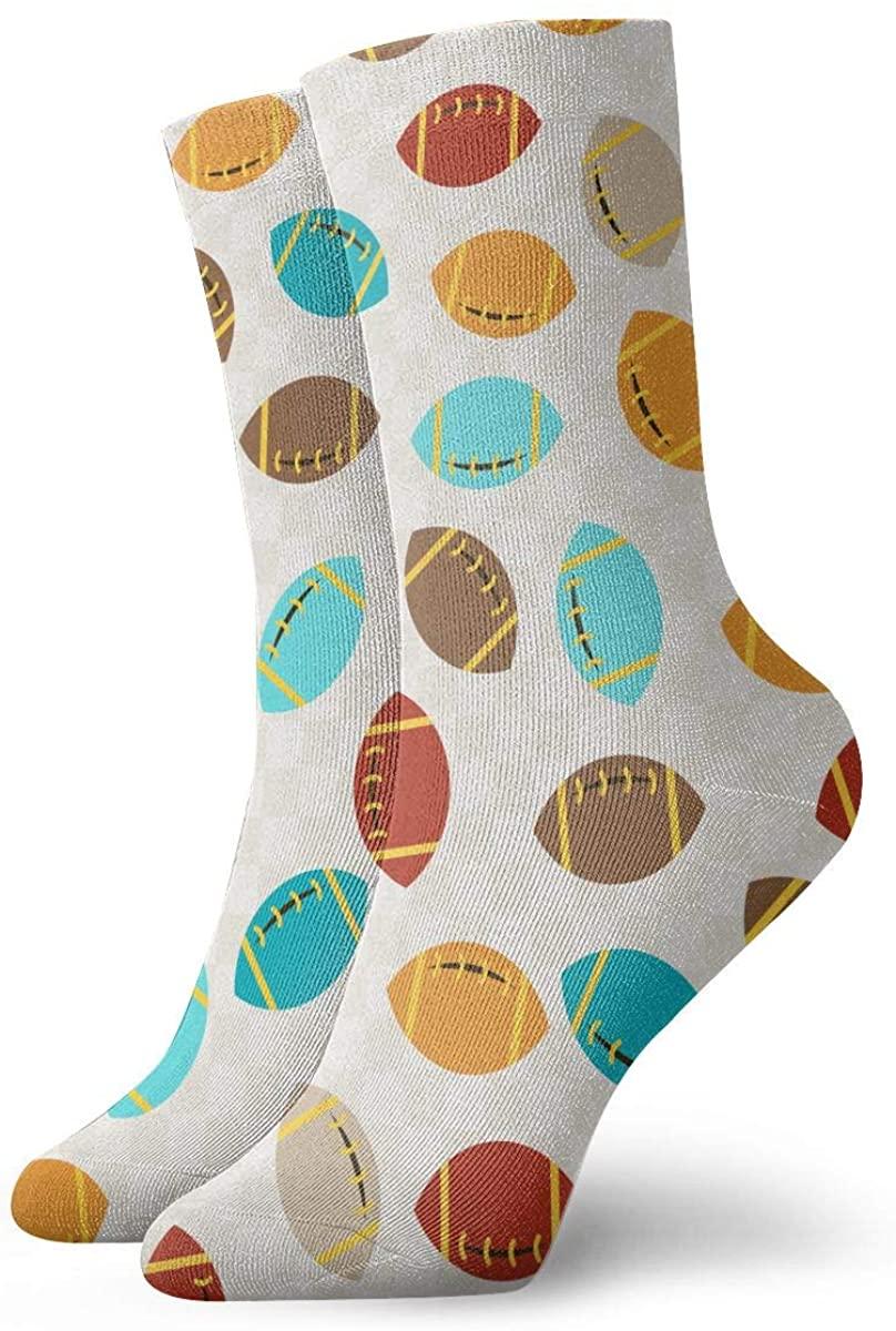 Field Rain Rugby Unisex Casual Stockings Sport Athletic Crew Socks