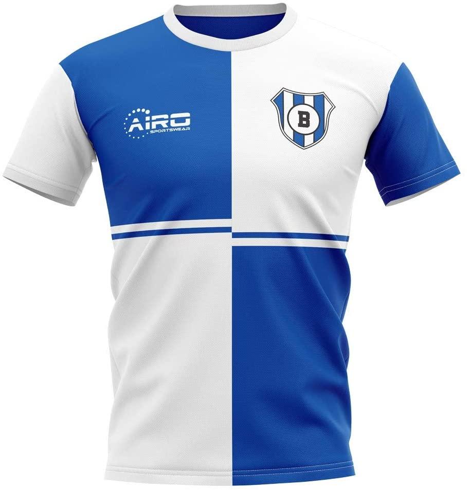 Airosportswear 2020-2021 Blackburn Home Concept Football Soccer T-Shirt Jersey - Kids