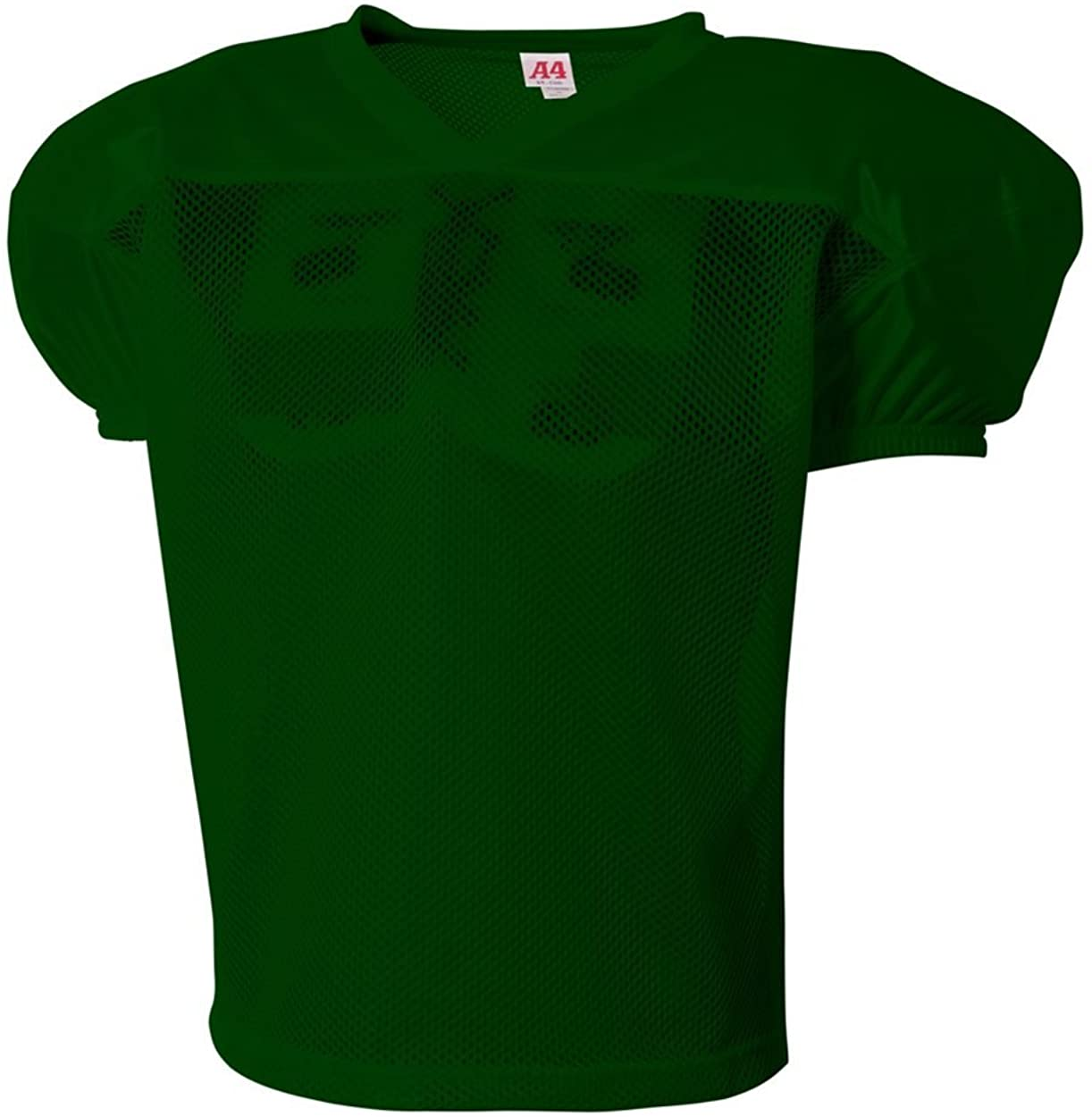A4 Sportswear Hunter Green Adult Medium Football Drills Practice Jersey