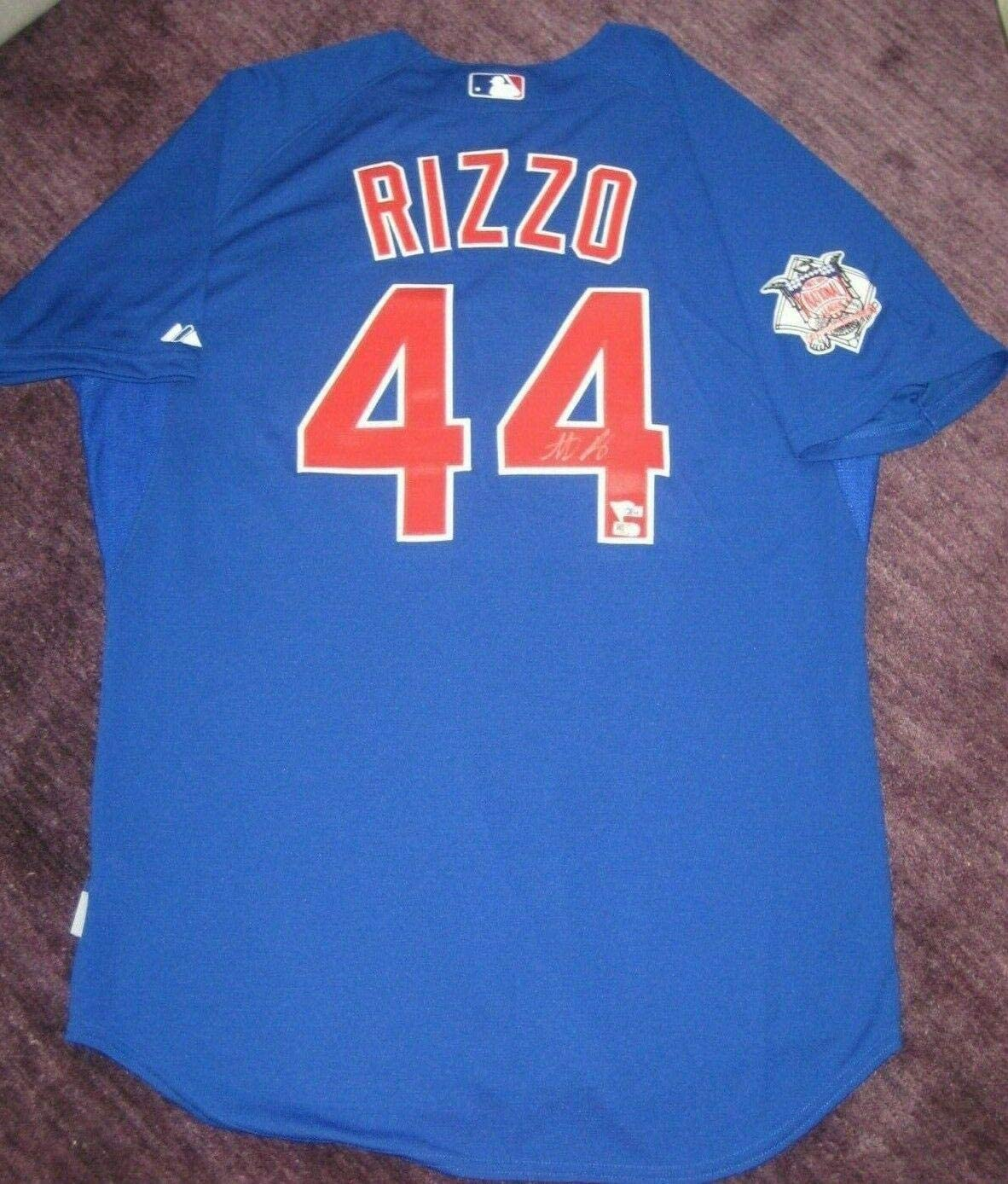 Signed Anthony Rizzo Jersey - Majestic - Autographed MLB Jerseys