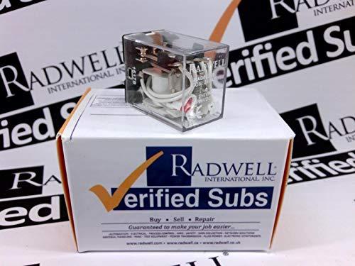 RADWELL RAD00259 Relay - 4PDT 5A Mini Plug in W/LAMP