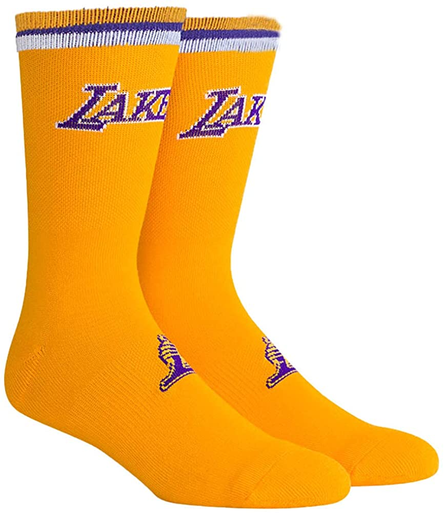 PKWY NBA Unisex Team Uniform Crew Socks