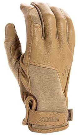 BLACKHAWK! Gt003Tnsm Aviator Commando Glove, Coyote, 498 Small