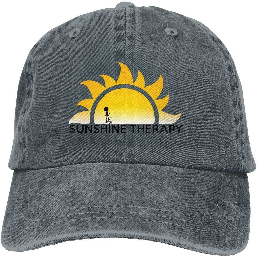 IASIFD Bring On The Sunshine Logo Unisex Flex-fit Hat Hip Hop Baseball Cap Sun Hat Outdoor Cap Deep Heather