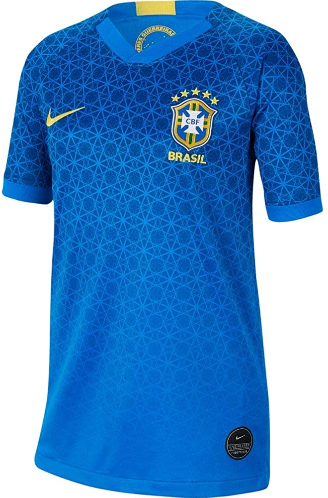 Nike Brazil 2019-20 WC Youth Away Jersey - Blue L
